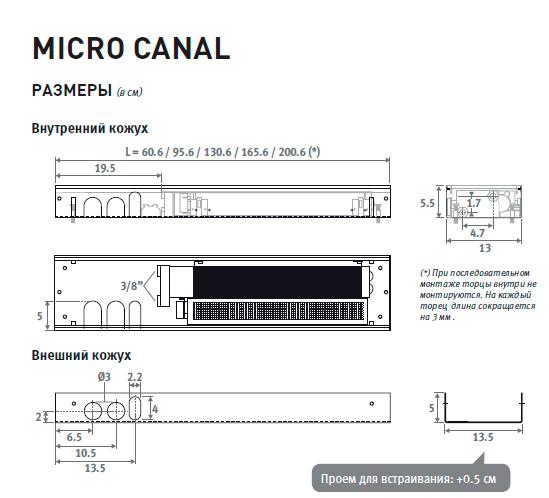 РАЗМЕРЫ-MICRO-CANAL