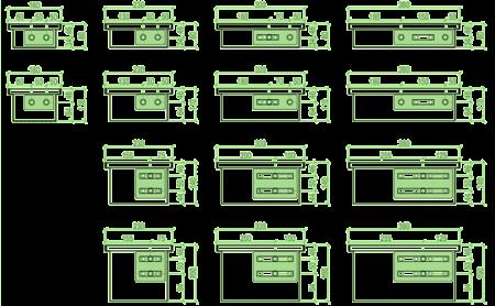 Типомодельный ряд GEKON
