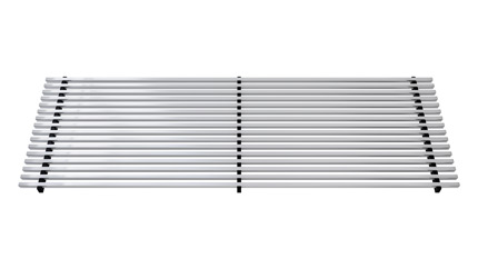 Продольная aлюминиевая решетка - Vera